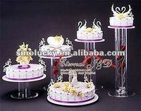 acrylic round cake frame wedding festival display products
