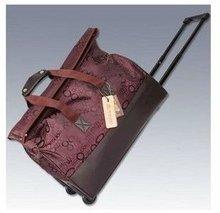 2012 New fashion oxford luggage case trolley bag