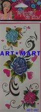 Body Tattoo Sticker Henna Sticker Tattoo Stencils AM-T-082 ART-MART