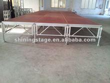 Aluminium mobile stage,aluminium stage frame