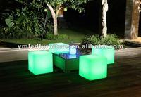 plastic light cube