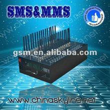 New 32 port gsm modem RS232/USB interface,serial gsm module/download driver edge wireless modem