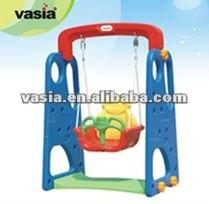 Plastic indoor slide for children