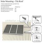 solar panels support equipments