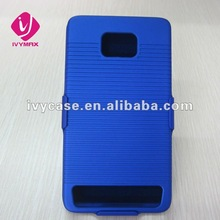 new holster combo case for samsung galaxy s2 2-piece rubberized hard shell case cover