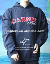 2012 high quality no zipper hoodie jacket for men women