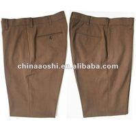 wrinkle free cheap cotton man pants