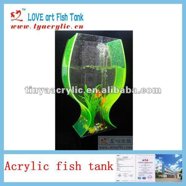 Elegant Acrylic Fish Tank Unique Aquarium Decorations - Buy Fish ... Unique Fish Tank Decorations
