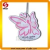 Hot sale paper car vent freshener