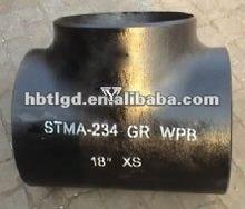 split carbon steel bw tee