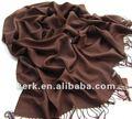 Venda de ações! 2012 moda pashmina liso design lenço e xaile, estoque 40 cores de preços por atacado, 100% pashmina