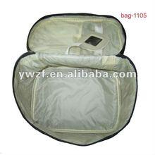 satin basics travel cosmetic bag wholesale