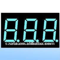 LED digital display panel 7segment 3 digits