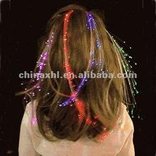 Glowing hair braid