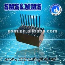 GSM modem 8/16/32/64 ports,RS232/USB interface,850/900/1800/1900MHZ gsm bulk sms/wifi usb modem sim card