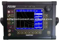 Pulse echo, dual, and thru-transmission FD350, ultrasonic weld test, ultrasonic fault detector