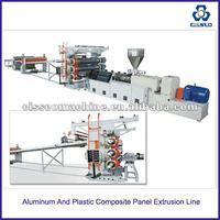 Aluminum And Plastic Composite Panel Extrusion Line