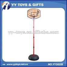 Adjustable height of basketball set for kids