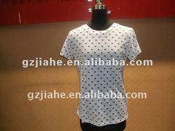 2013 new design korea ladies t-shirt wholesale