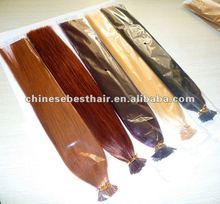 """Guarantee 100% human hair, 16""""-22"""" Remy Keratin Nail tip hair Human Hair Extensions #4"""