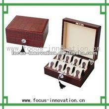 wood watch display case