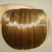 wholesale factory price KANEKALON fiber clip hair bangs