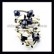 2012 new fashion design elastic finger ring