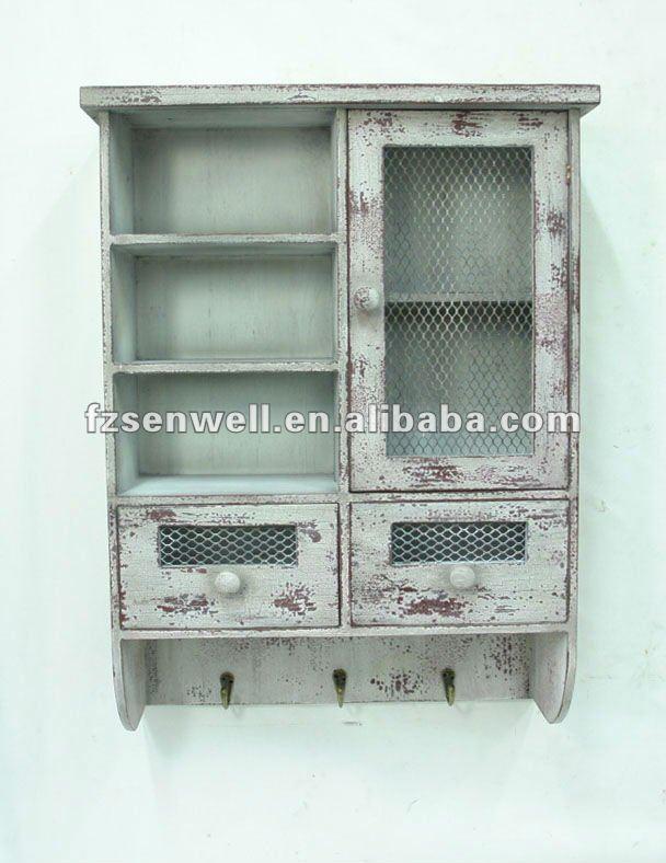 White Shabby Chic Kitchen Cabinets Shabby Chic Kitchen Wall