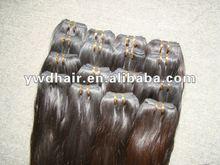 Super quality human hair material sliky straight Brazilian virgin hair
