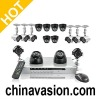 16 channel DVR System with 8 outdoor cameras + 8 indoor cameras