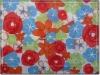 75D*150D Poly printed peach skin fabric