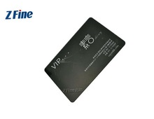 HOT!!!Plastic loyalty card with magnetic stripe