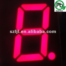 "RoHS Approved Single Digit 4.0"" Red 7 Segment LED Display"