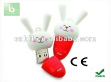 little white rabbit usb flash drive bulk 1gb usb flash drives standard usb flash drive