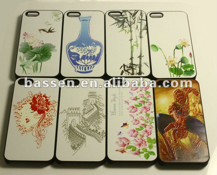 picture printing customized case for iphone 5