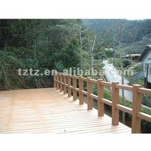 2012 Green material plastic composite flooring