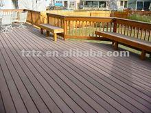 2012 Green material plastic composite WPC flooring