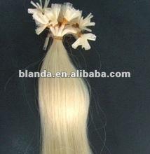 #613 blonde indian u tip pre-bonded hair extenion on sale