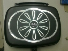double frying pan/casting grill pan OEM brand