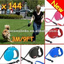 Retractable Dog Lead Leash Cord 9 FT 12KG Pet Supplies