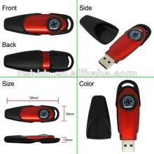 Compass Pen Drivewith Key Strap/Corporate Gifts