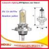 High quality car halogen bulb h4 12v amber