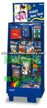 Supermarket mass display for retail shelf rack