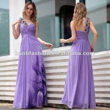 DORISQUEEN drop shipping hot sale floor length one shoulder the most beautiful evening dress