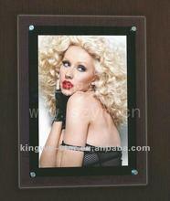 Professional desktop or wall mounted advertising crystal light box