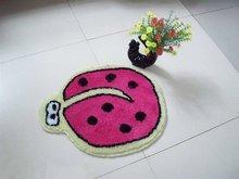 Microfibre decorative bedroom floor mats