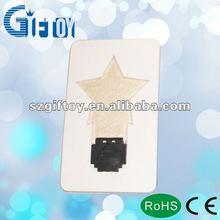 led pocket card light business gift
