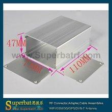 "Aluminum Box Enclosure Case -4.33""*2.87""*1.85""(L*W*H) cabinet box for fuse box"