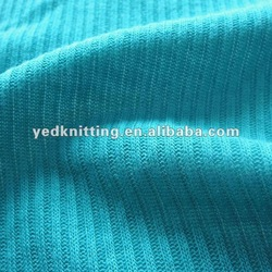 knitted cotton fabric heavy jersey for garment