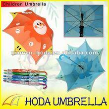 "2012 new style 17"" children straight umbrella"